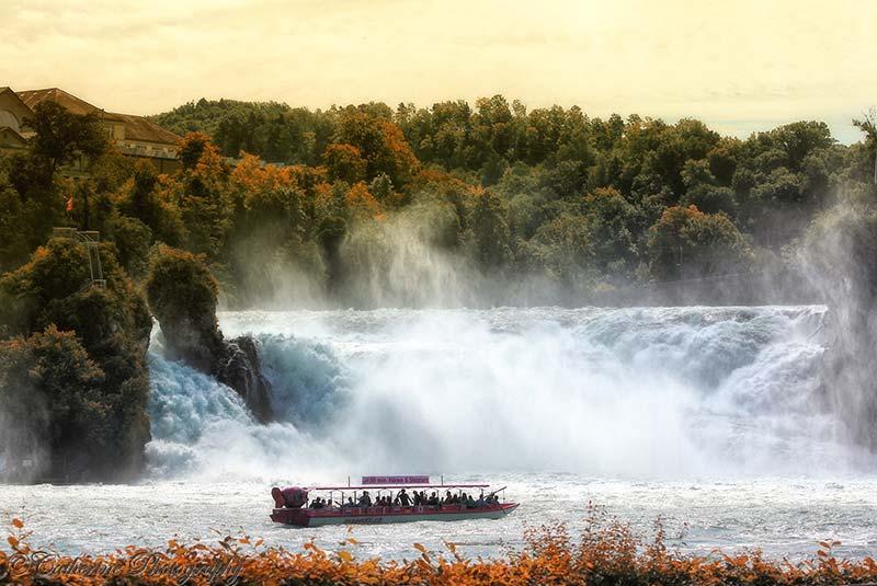 آبشارهای راین سوئیس