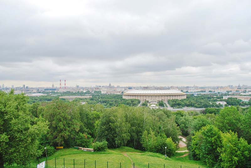 تپه گنجشک ها - بام مسکو