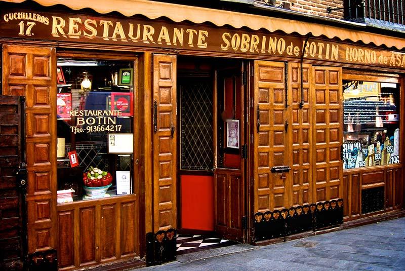 رستوران های مادرید