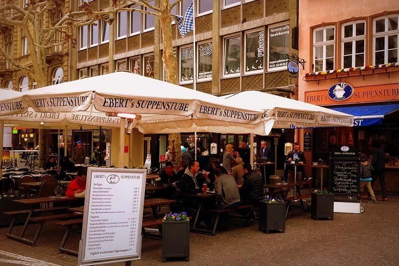 رستوران های فرانکفورت