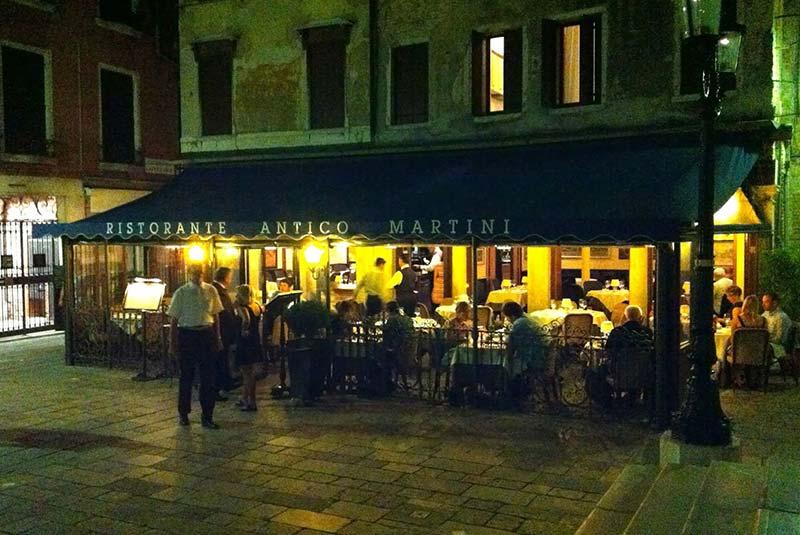 رستوران های ونیز