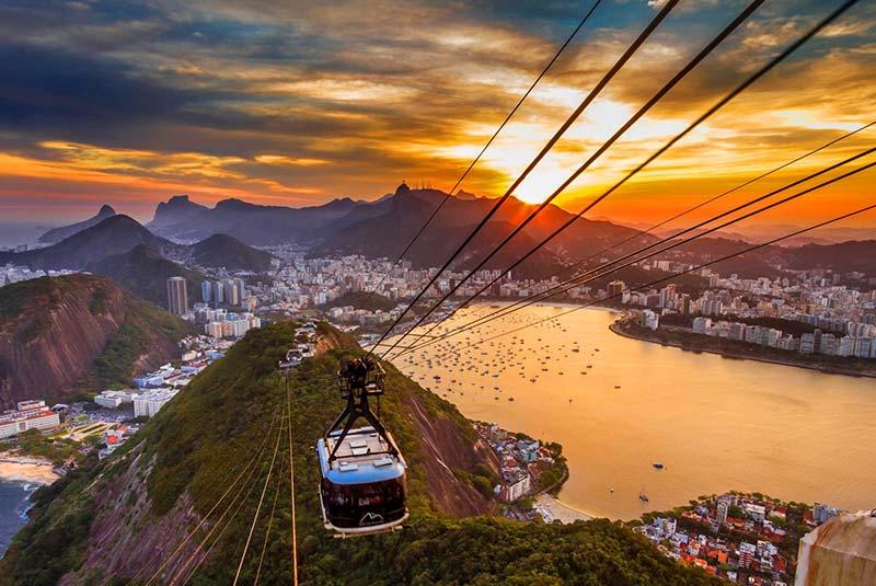 کوه شوگرلوف ریو دو ژانیرو