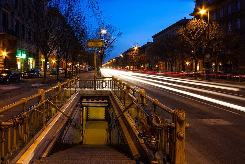خیابان آندراس - بوداپست