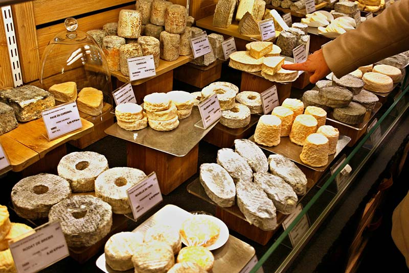پنیر فروشی های پاریس