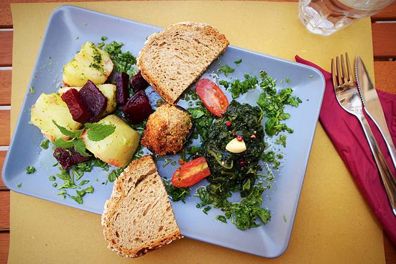رستوران های گیاهی در ونیز