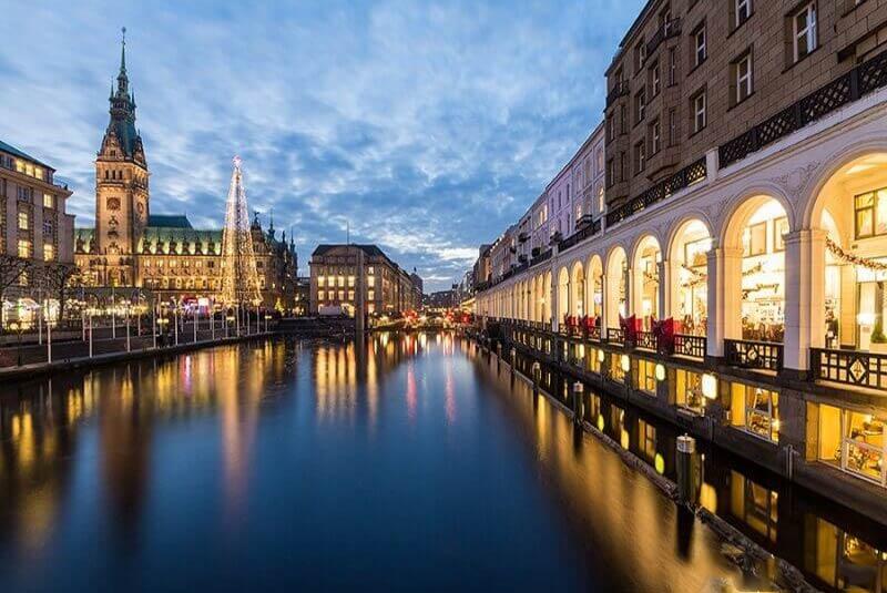 خرید در هامبورگ