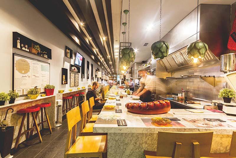 رستوران های والنسیا