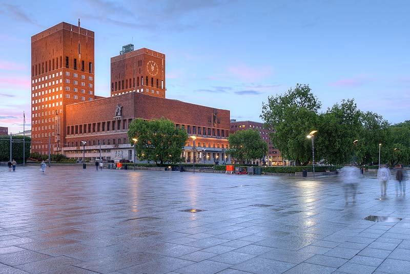 ساختمان شهرداری اسلو - نروژ