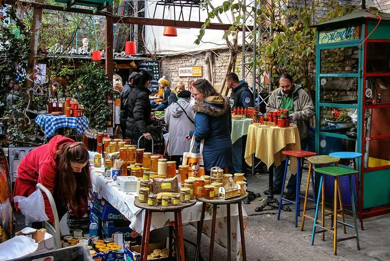 بازار های بوداپست