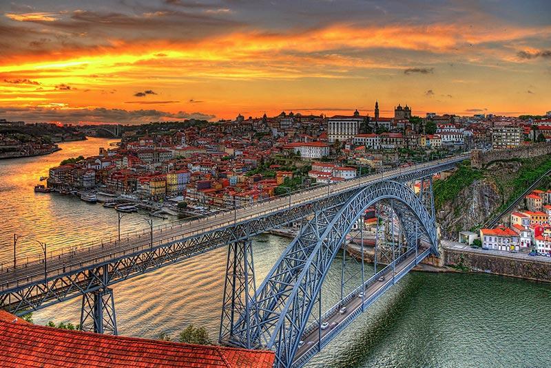 جاذبه های گردشگری پورتو