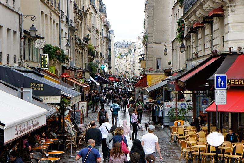 محله های دیدنی پاریس