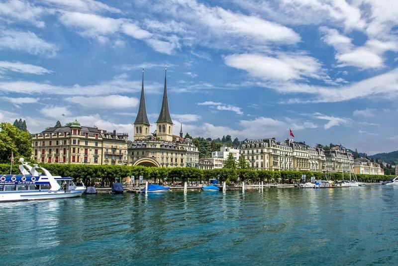 دریاچه لوسرن سوئیس
