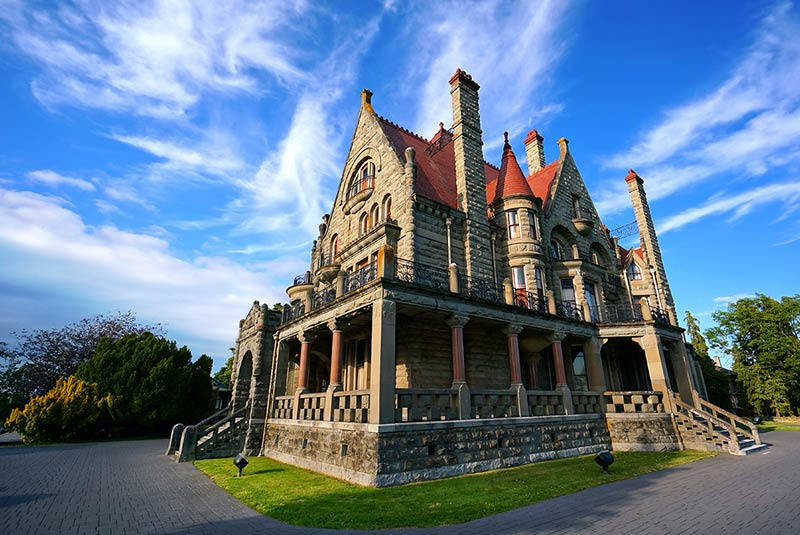 کاخ کریگ دارک در ویکتوریا