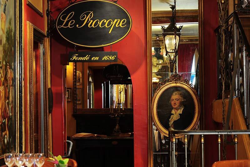 کافه رستوران پروکوپ در پاریس