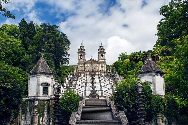 کلیسا بوم جسوس د مونت در براگا پرتغال