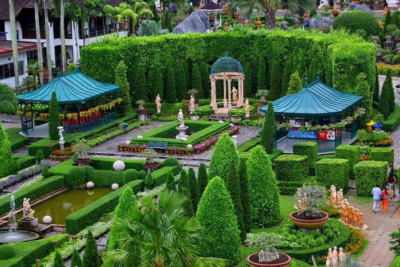 باغ نانگ نوچ در پاتایا