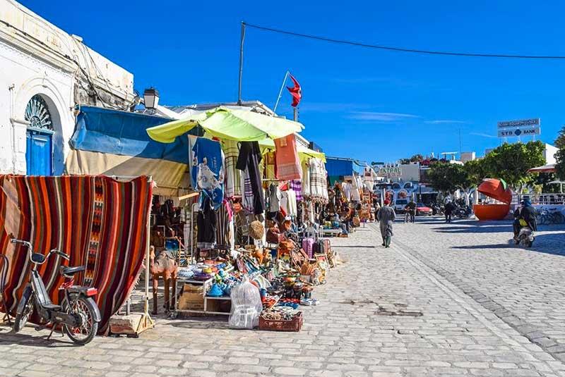 منطقه سوق در سوسه