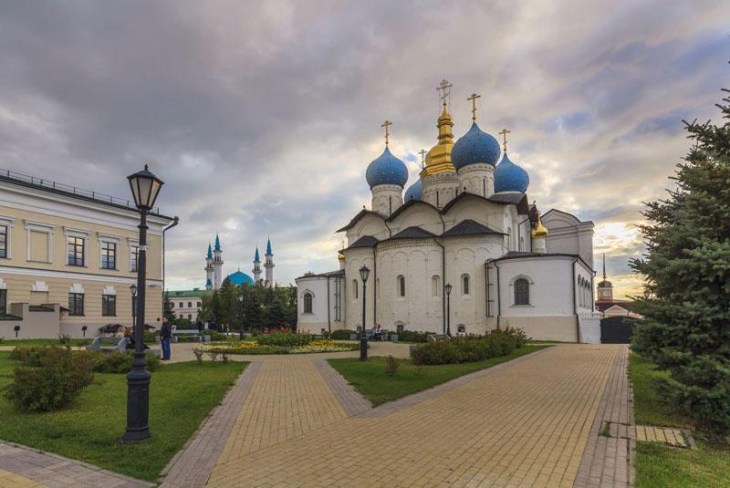 کلیسای کازان روسیه