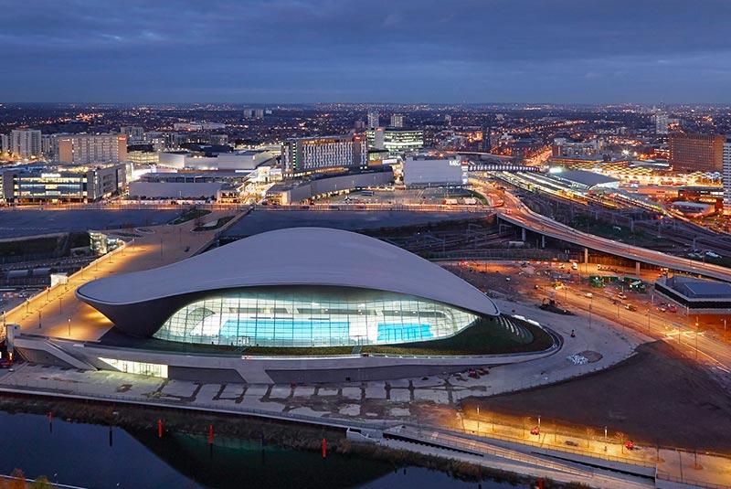 مرکز ورزش های آبی لندن