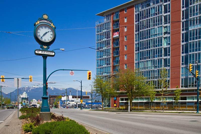 محله های ونکوور
