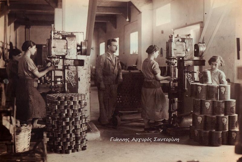 موزه صنعتی گوجه فرنگی سانتورینی یونان