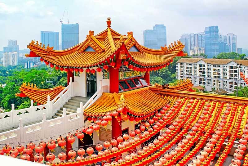 معبد تیان هو در کوالالامپور