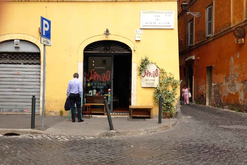 غذاهای خیابانی رم