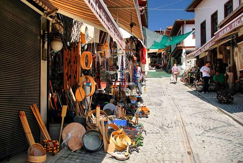 بازار چیکریچیلر یوکوشو در آنکارا