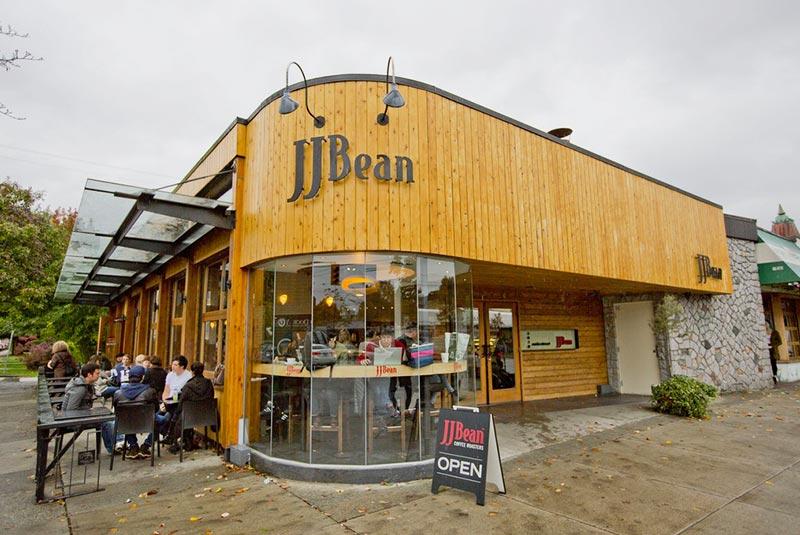 کافه جی جی بین در ونکوور
