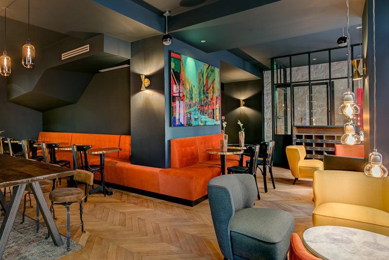 هتل اسکارلت در محله بلویل پاریس