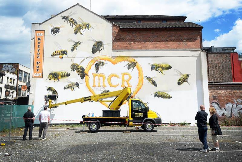 هنر خیابانی در اولدهم منچستر