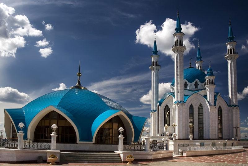 مسجد قل شریف کازان روسیه