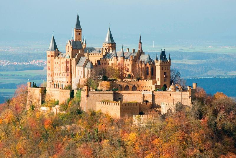 قصرهای افسانه ای آلمان