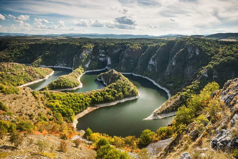 جاذبه های طبیعی صربستان