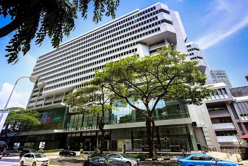 ساختمان های معروف سنگاپور