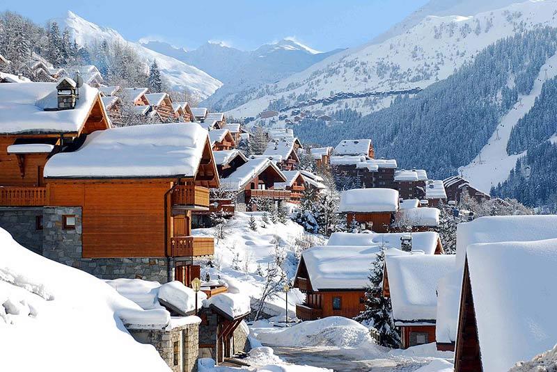 پیست اسکی مریبل فرانسه