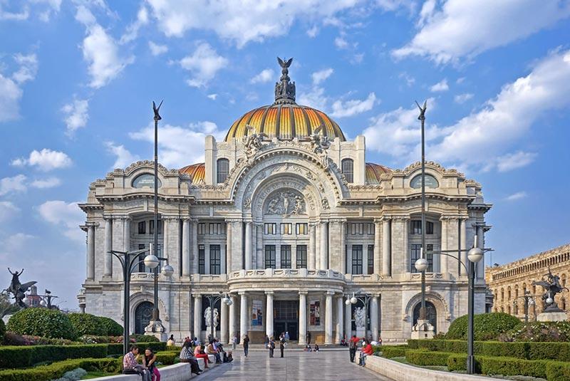 کاخ هنرهای زیبا در مکزیکوسیتی