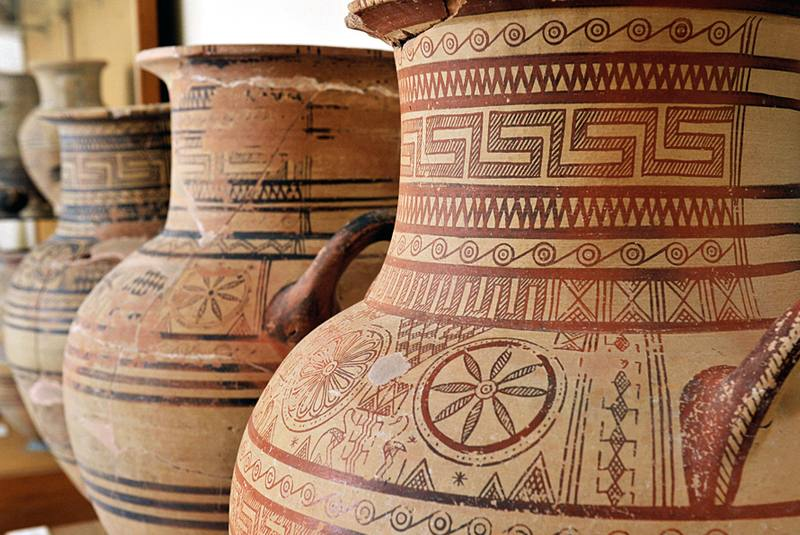 موزه باستان شناسی سانتورینی یونان