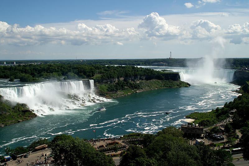 آبشار نیاگارا تورنتو کانادا