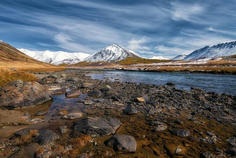 کوهستان آلتای در روسیه