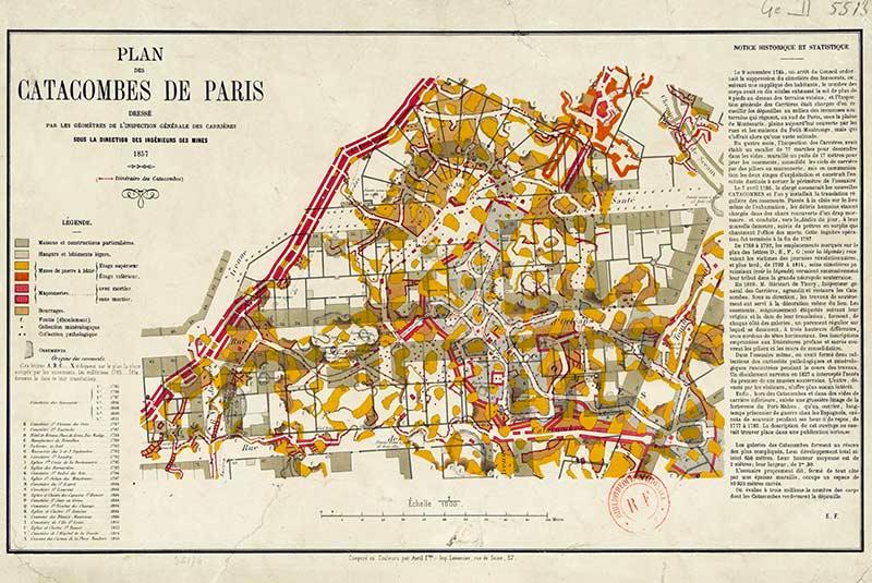 گورستان زیرزمینی پاریس