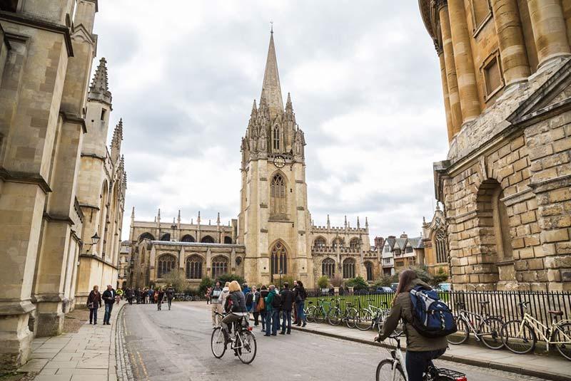 کلیسا سنت مری در آکسفورد