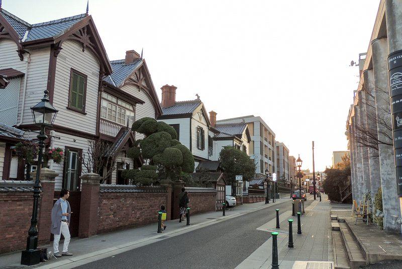 منطقه کیتانوچو در کوبه ژاپن