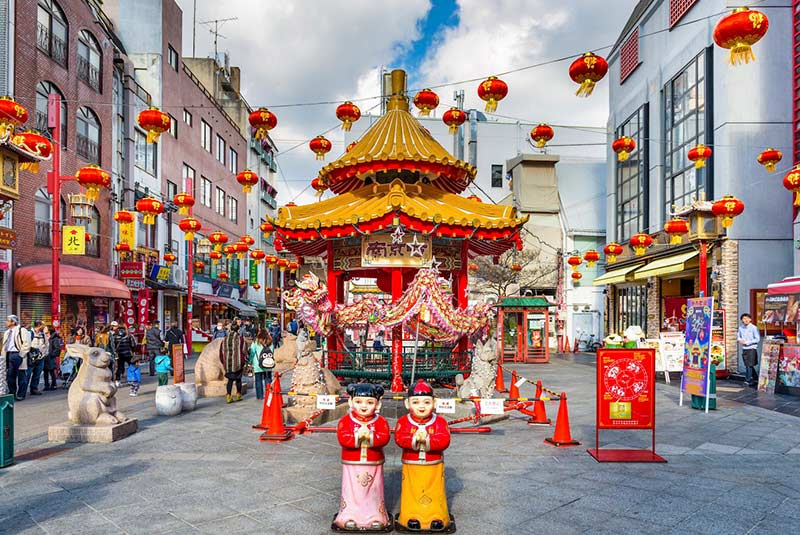 محله چینی ها در کوبه ژاپن
