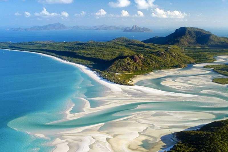 جزایر وایت ساندی استرالیا