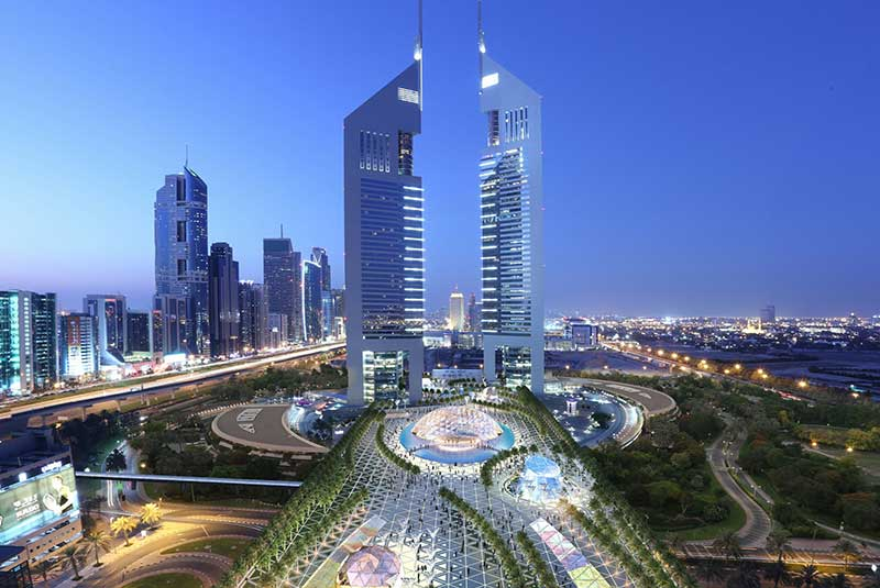 بلندترین هتل های دنیا