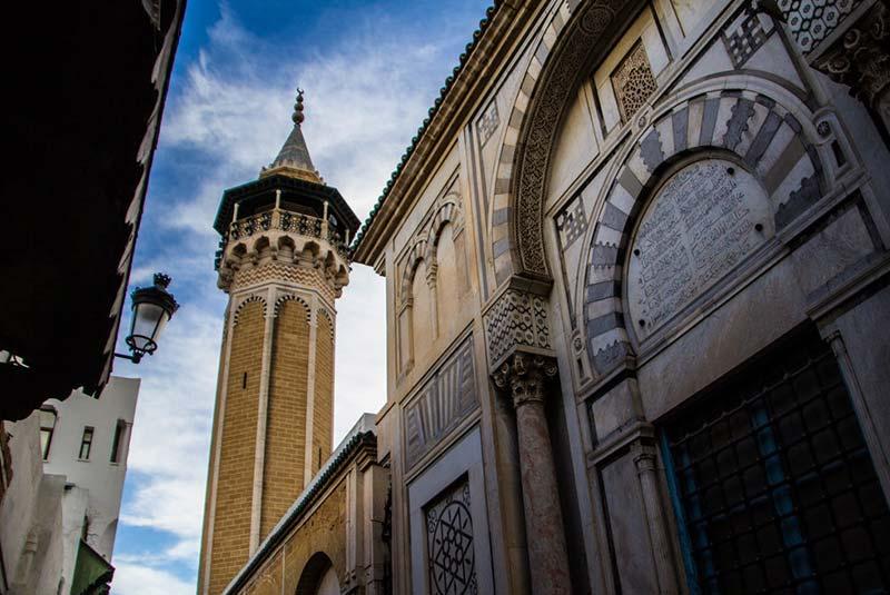 محله قدیمی شهر تونس