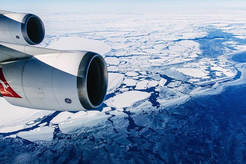 زیباترین مسیرهای پروازی - قطب جنوب