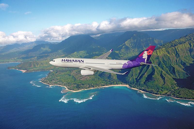 زیباترین مسیرهای پروازی - هاوایی