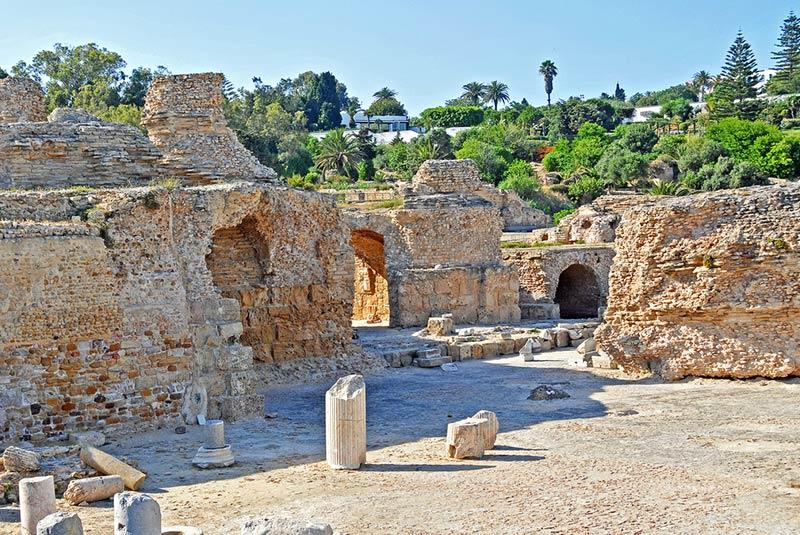حمام آنتونیوس در تونس